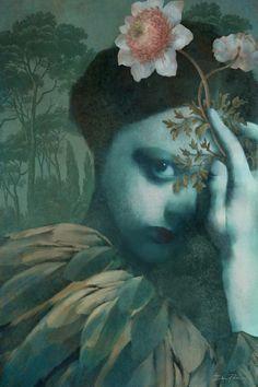Daria Petrilli, Surrealism Painting, Magic Art, Italian Artist, Savage, Gallery, Green, Instagram, Appreciation