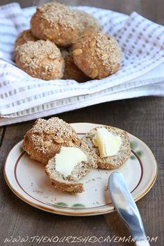 Low Carb Gluten Free Sesame Keto Bread Buns