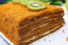 Honey cake in an unusual way. Yes, and without rolling cakes! Beef Oven Recipe, Turkey Bacon Recipes, Cooking With Ground Beef, Honey Cake, Vegetarian Recipes Dinner, Russian Recipes, Secret Recipe, Vegetable Dishes, Sweet Recipes