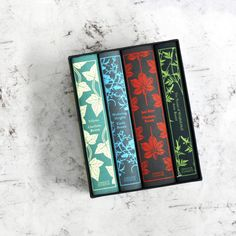 We're suckers for a pretty book cover... and this Bronte sisters boxed set does not disappoint!