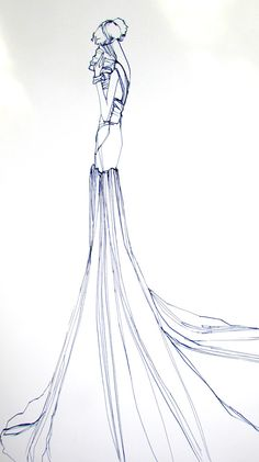 Items similar to Custom Wedding Gown Fashion Illustration on Etsy Fashion Sketchbook, Fashion Sketches, Fashion Drawings, Fashion Illustrations, Illustration Art, Wedding Illustration, Bridal Poses, Learn Art, Vogue Covers