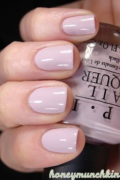 OPI - Steady as She Rose #nailpolish