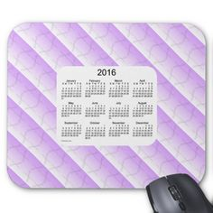 Purple Dragonfly 2016 Calendar by Janz Mousepad