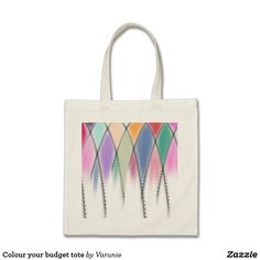 Colour your budget tote