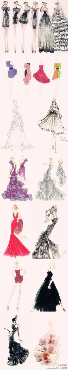 fashion sketches: