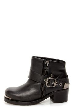 Cuffed and belted ankle boots #motorcycle #chic  Get 7% Cash Back http://www.studentrate.com/itp/get-itp-student-deals/lulu-s-Student-Discount--/0