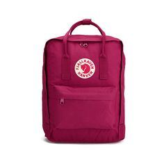 Fjallraven Kanken Backpack - Plum (1.326.190 IDR) ❤ liked on Polyvore featuring bags, backpacks, lightweight daypack, fjallraven backpack, waterproof backpack, waterproof daypack and lightweight backpack