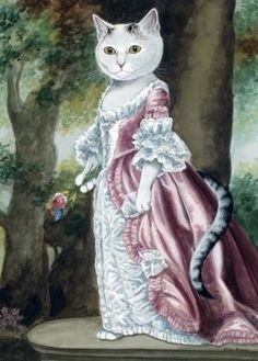 Susanna Gale {Reynolds} by Susan Herbert I Love Cats, Cool Cats, Costume Chat, Animal Gato, Image Chat, Fancy Cats, Photo Chat, Cat People, Here Kitty Kitty
