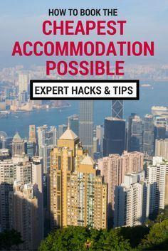 How to Book the Cheapest Hotel Possible