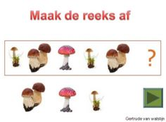 Digibordles herfst: maak de reeks af    http://leermiddel.digischool.nl/po/leermiddel/cc8a57d5f198de60ac79953e983f6b56
