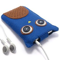 Owl iPod Case / Mobile Phone Case von minifelts auf Etsy, £16,00
