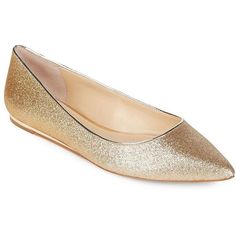 Imagine Vince Camuto Women's Genesa Metallic Ballet Flats (750 HRK) ❤ liked on Polyvore featuring shoes, flats, silver, metallic flats, beige ballet flats, sparkly flats, ballet flat shoes and ballet flats