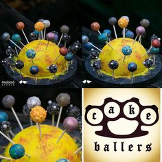 We were elated far beyond the ends of the universe when our good friends at @twobirdstudio needed a solar theme cake pop order to help them celebrate their littles birthday!! www.cakeballers.com #thecakeballers #cakeballers #solarsystem #universe #cakepops #outofthisworld #eatmorecakeballs #boiseballers #gotballs #weloveourcustomerstothemoon #thankyoufortheradphotos