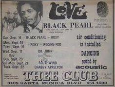 Love concert poster 1970