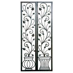 Wrought Iron Wall Decor Ideas Timeless and Ever-Lasing Wrought Iron Home Decor Wrought Iron Wall Decor, Wrought Iron Gates, Iron Wall Art, Decorative Wall Panels, Tangle Art, Leather Carving, Tile Murals, Mexican Art, Metal Crafts