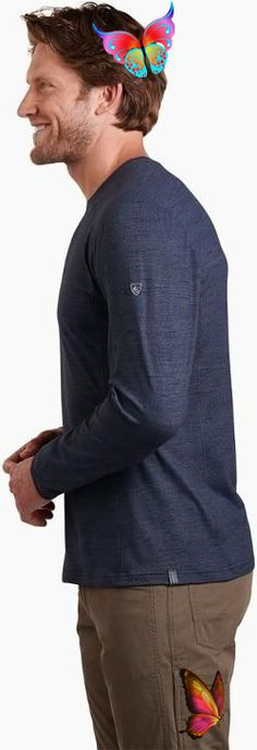 KUHL Men's Intent Krew Shirt Pirate Blue Xxxl #mens hairstyles thick hair #menshairstylesmessy #menshairstylesmedium #menshairstyleswidowspeak #menshairstylessidepart #menshairstylesprofessional<br> Mens Hairstyles Side Part, Mens Hairstyles Round Face, Mens Hairstyles With Beard, Popular Mens Hairstyles, Haircuts For Men, Curly Hairstyles, Hairstyles 2018, Men's Medium Hairstyles, Beehive Hairstyles