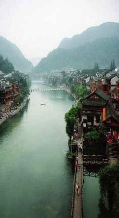 Phoenix Ancient Town (Fenghuang), China