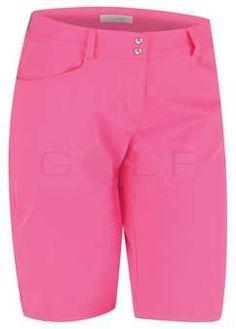 Adidas Women's Essentials Lightweight Bermuda Short - Scorch Pink