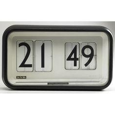 "Gino Valle for Solari & C. Udine ""Cifra 12"" wall clock."