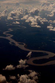 Amazonas river, Peru.