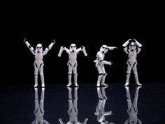 Stormtrooper Y-M-C-A.  Is the song stuck in your head yet?