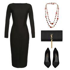 """#Lookoftheday с базовым платьем из костюмной шерсти #Yakubowitch, которое отлично подойдет, как для свидания, так и для похода в офис. Мы подобрали к образу  винтажное колье #Chanel, сумку и туфли #SaintLaurent для вечернего выхода.  Примерить и купить любую вещь из нашей коллекции можно в шоуруме винтажной моды """"Шифоньерка"""" @chiffonierka (Столешников пер. 9/1). Также заказать можно через whatsapp, viber: +79161663344. Доставка в любой город.  Look of the day with Yakubowitch base wool…"""