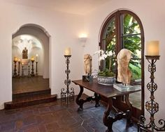 Spanish Style Home Decor » Collar City Brownstone