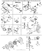 Tecumseh WALBRO631498 Parts Diagram for Carburetor