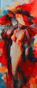 ♡♥ Artist: Elena Filatov Beautiful Artwork, Lady In Red, Saatchi, Art Decor, Watercolor Paintings, Photos, Wall Art, Drawings, Laetitia