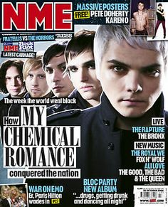 How My Chemical Romance conquered the nation <----gives me chills every time I read it