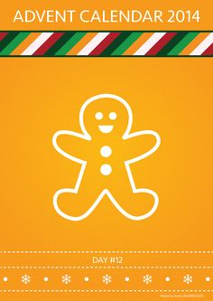 Day 12: Gingerbread man