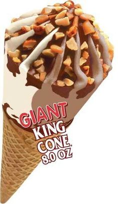 Good Humor...King Cone (even the cone inside is coated in chocolate, which keeps it crisp as the ice cream melts.)  Yum.
