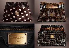 Burberry bags from Runway Made to Order Collection 2013