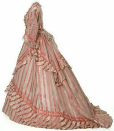 French, silk. 1870-2