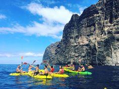 Último fin de semana de Kayak de la temporada ! Mil gracias a todos los que han disfrutado con nosotros de Los acantilados de Los Gigantes !! Ustedes nos dan fuerzas para volver el año que viene con nuevas rutas !! #kayak #ilovemywork #visittenerife #masca #losgigantestenerife