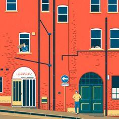 House ii Art Print by Yukai Du | Society6