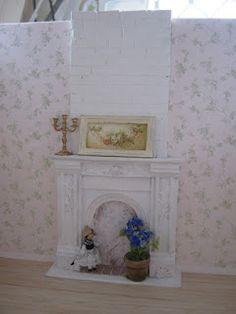 Lavande House Miniatures: 2012 Miniatures, Etsy Shop, Tiles, Mantle, Home Decor, Life Savers, Fireplace, Attic Bedroom