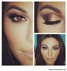 Brown eyes pop