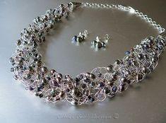 wire crochet jewelry | Crochet On Knitting Crochet Pattern For Prayer Shawl >>