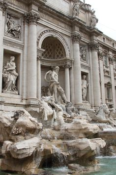 Trevi Fountain, Italy. I remember how beautiful it is...but I have not idea what I wished for. I bet I got it though :)