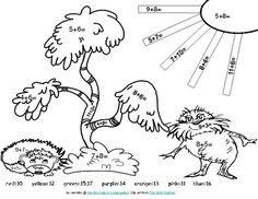 math worksheet : 1000 images about dr seuss on pinterest  dr seuss the lorax  : Dr Seuss Worksheets For Kindergarten