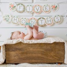 Use the Rifle Paper Co.Monogram Garland from BHLDN for all life's special moments, before and after I DO.