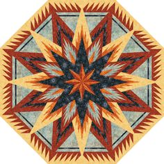 Check out this original color-way designed by Erin M. Sign up for a chance to participate in a private beta invite on www.quiltster.com