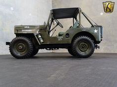 Up for sale in our Tampa showroom is this 1962 Jeep Willys Cj Jeep, Jeep Willys, Jeep Truck, Vintage Jeep, Vintage Cars, Hot Rods, Black Lab Puppies, Corgi Puppies, Golden Puppy