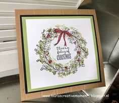 Feeling of Christmas, Stampin' Up! - a Christmas card