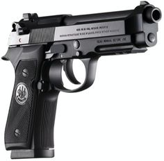 This is a Beretta A 40 caliber semi automatic pistol that holds 12 rounds in the mag and 1 in the chamber. I really like the style and feel of these. I also like the fact it is double and single action. Beretta 92, 40 S&w, By Any Means Necessary, Cool Guns, Guns And Ammo, Airsoft, Firearms, Shotguns, Hand Guns