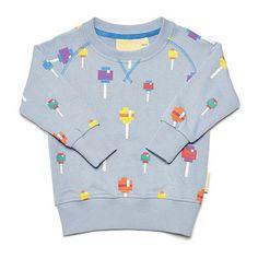Lollipops Crew Neck Sweatshirt by Boys and Girls - Junior Edition www.junioredition.com