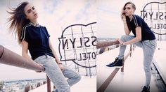 CARA DELEVINGNE IS REBEL CHIC IN NEW PENSHOPPE ADS