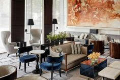 Lobby Lounge - St. Regis San Francisco