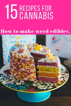 15 Recipes to Make Cannabis Infused Candy & Desserts  Here are fifteen different delicious ways you can eat cannabis.  If you can't tolerate the taste of pure cannabis oil, then edibles are ideal.  These 15 recipes make potent weed edibles. #cannabiscommunity #medicalmarijuana #cannabis